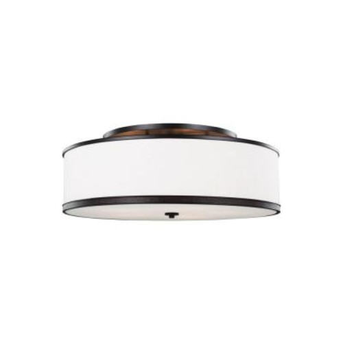 Feiss Marteau 5-Light Oil Rubbed Bronze Ceiling Fixture