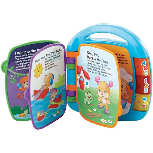 Fisher-Price Laugh and Learn Story and Rhymes Book