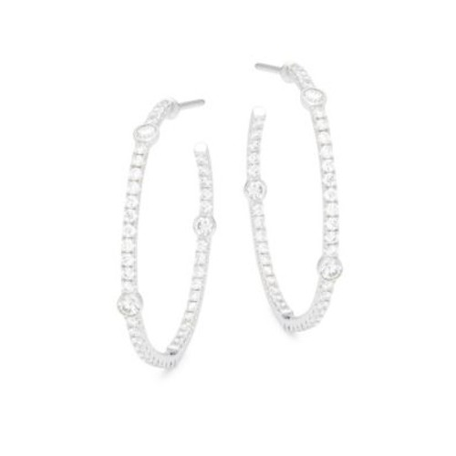 Kwiat - Confetti Diamond & 18K White Gold Earrings