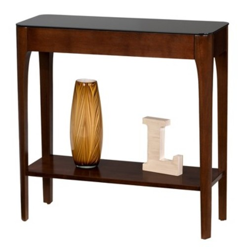 Obsidian Hall Stand - Chestnut - Leick Furniture