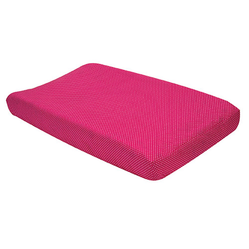 Trend Lab Changing Pad Cover - Pink And White Dot
