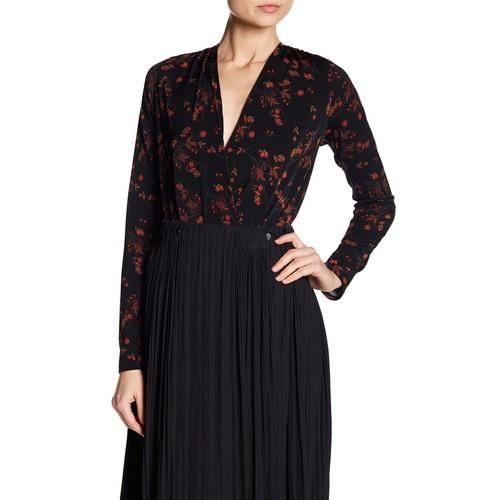 Long Sleeve Floral Bodysuit