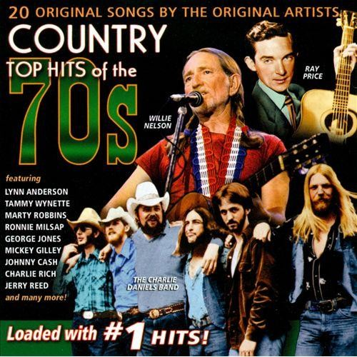Country Top Hits of the 70's [CD]