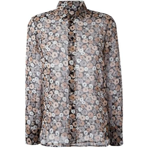 SAINT LAURENT Anemone Print Shirt