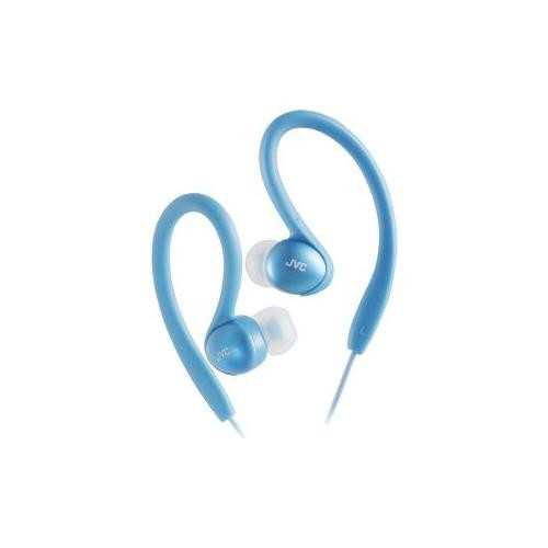 JVC HAEB75A Sports Clip Headphone (Blue) (Discontinued by Manufacturer)