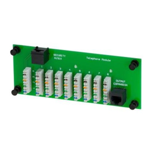 Commercial Electric 1 x 8 Telephone Module