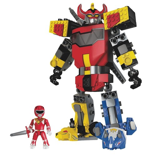 Mega Construx Power Rangers Mighty Morphin Megazord Playset
