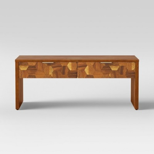 Jabiru Coffee Table with Drawer Brown - Opalhouse