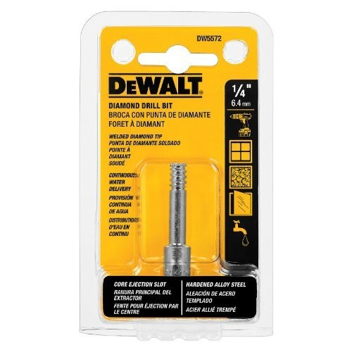 DEWALT DW5572 1/4-Inch Diamond Drill Bit