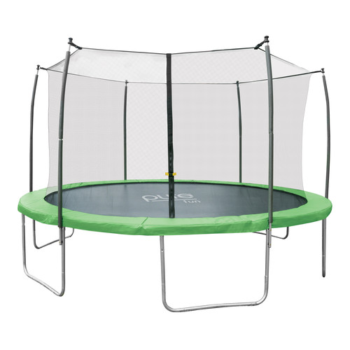 Pure Fun Dura-Bounce 14ft Trampoline with Enclosure