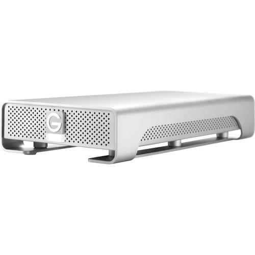 G-Tech G-DRIVE (Gen 6) GDREG6PB20001BDB - hard drive - 2 TB - FireWire 800