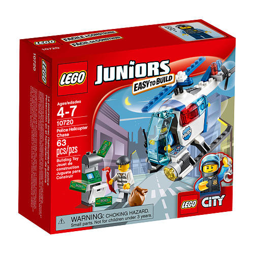 LEGO City Juniors Police Helicopter Chase (10720)