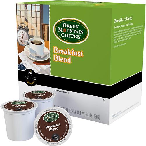 Keurig - Green Mountain Breakfast Blend K-Cup Pods (48-Pack) - Multi