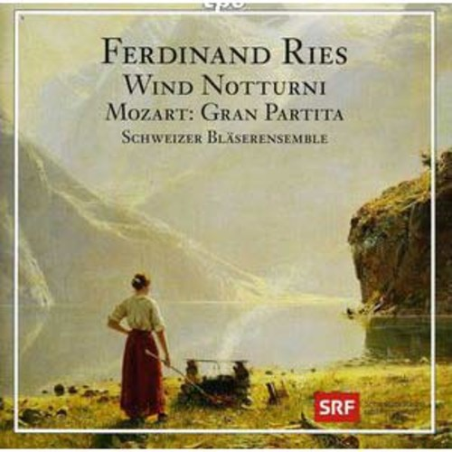 Ferdinand Ries: Notturni; Gran Partita By Swiss Wind Soloists (Audio CD)