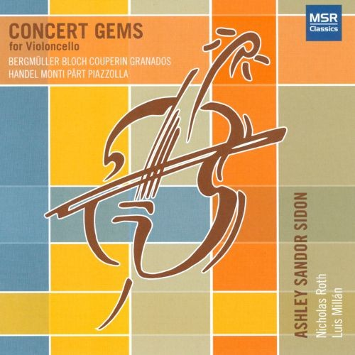 Concert Gems for Violoncello [CD]