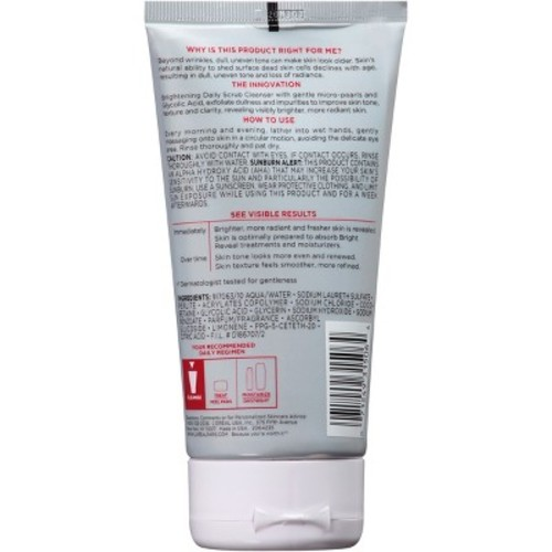 RevitaLift Bright Reveal Brightening Daily Scrub Cleanser