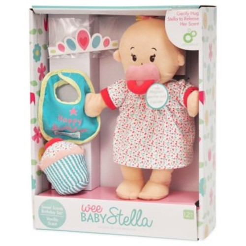 Manhattan Toy Wee Baby Stella Happy Birthday Doll Set with Vanilla Scent