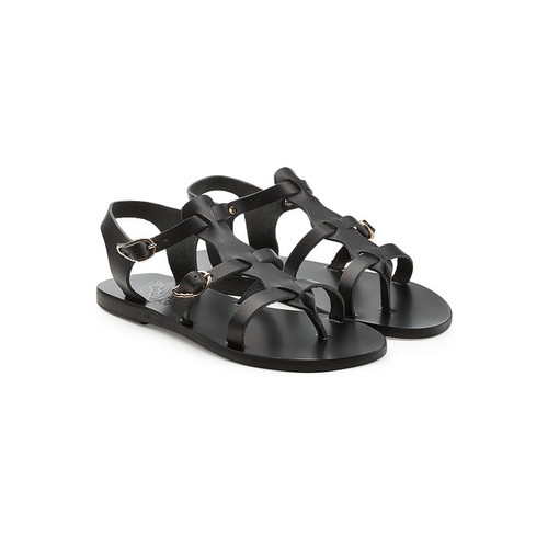 Grace Kelly Leather Sandals