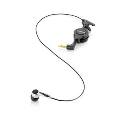 Philips LFH9162 Headset - in-ear - black/silver
