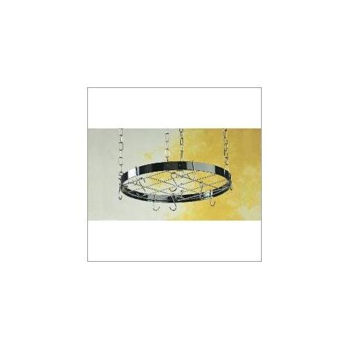 Rogar Gourmet Round Hanging Pot Rack with Grid