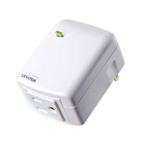 Leviton Decora Smart Wi-Fi Plug-In Outlet, No Hub Required, Works with Amazon Alexa and Google Assistant