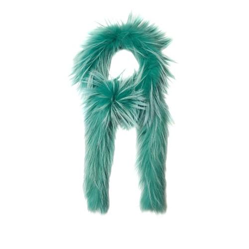 Fox-fur scarf
