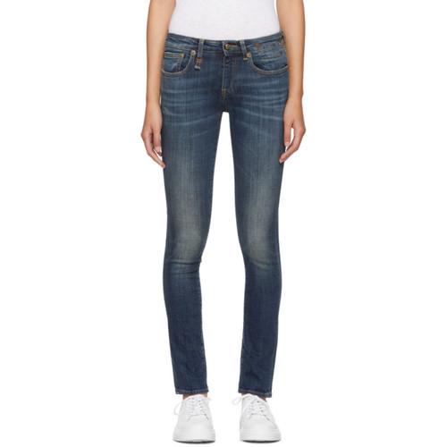 R13 Blue Kate Skinny Jeans
