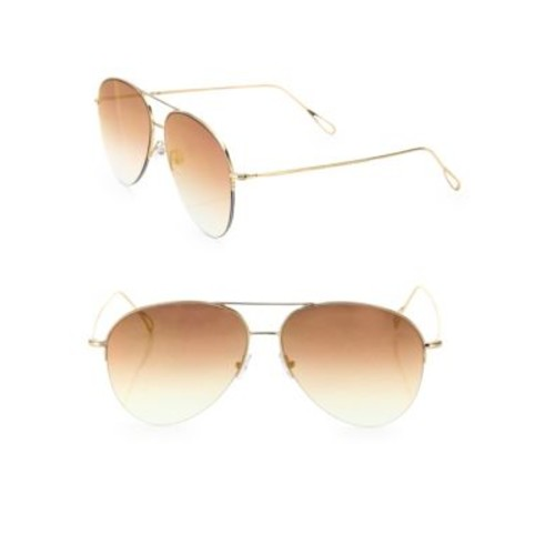 Stevie 59MM Mirrored Aviator Sunglasses