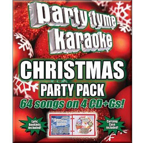 Party Tyme Karaoke: Christmas Party Pack [CD]