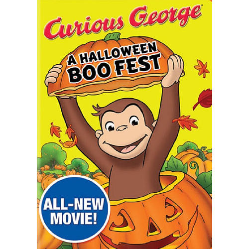 Curious George: Halloween Boo Fest DVD