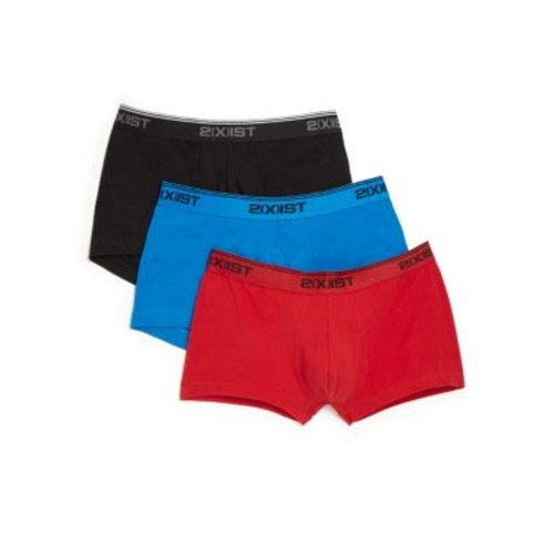 Three-Pack No-Show Trunks