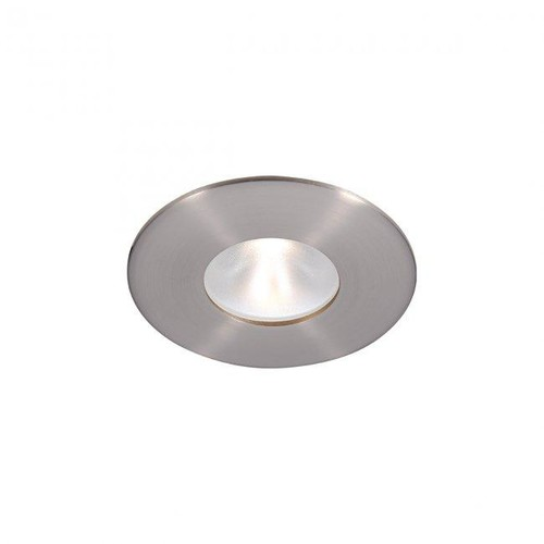 Tesla Pro 2IN Round High Brightness Trim [CRI\/color Temperature : 85CRI \/ 2700K; Beam Angle : Narrow - 30 Degrees; Finish : Brushed Nickel]