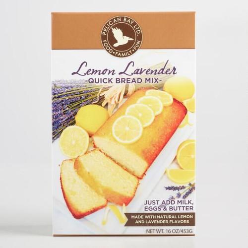 Pelican Bay Lemon Lavender Quick Bread
