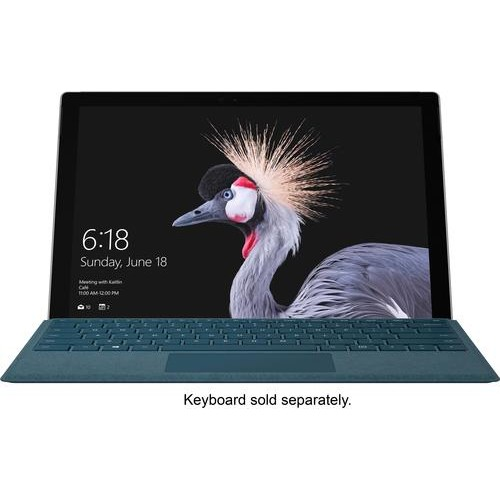Microsoft - Surface Pro  12.3  Intel Core i5  8GB Memory  256GB Solid State Drive (Latest Model) - Silver