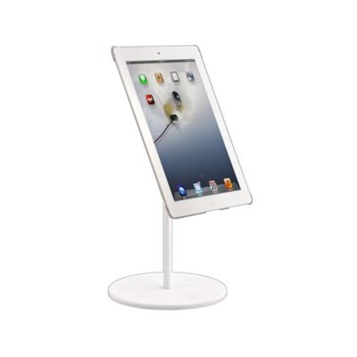 iOmounts iOstand (White powdercoat) Tabletop stand for tablets and smartphones