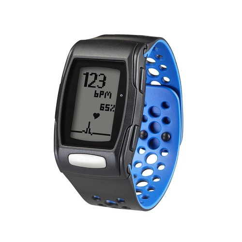 LifeTrak Zone 24-Hour Activity and Fitness Tracker + Heart Rate and Sleep Monitor, Black/Blizzard Blue, C410