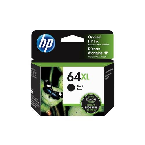 HP 64XL Black High Yield Original Ink Cartridge (N9J92AN)