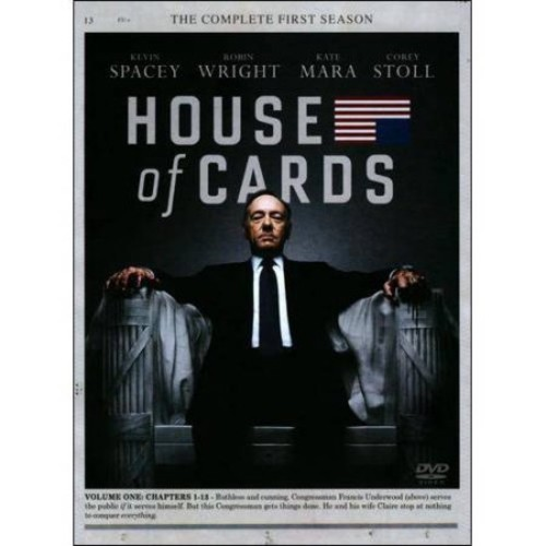 House of Cards: The Complete First Season [4 Discs] [DVD]