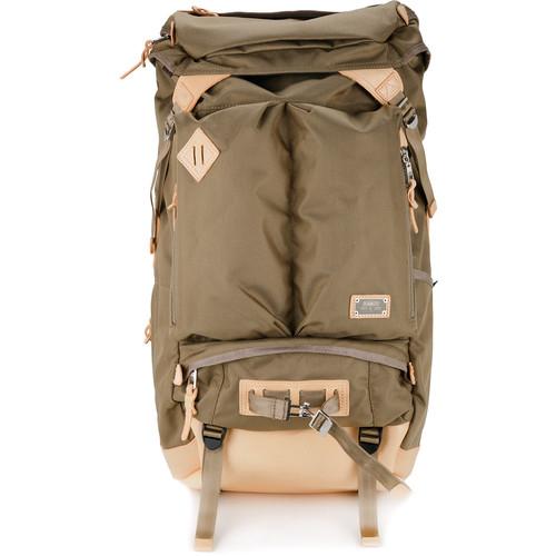 Ballistic nylon 2pocket backpack