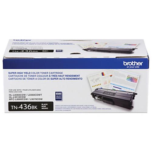 Brother TN436 Series High-Yield Toner Cartridge, Black, TN436BK