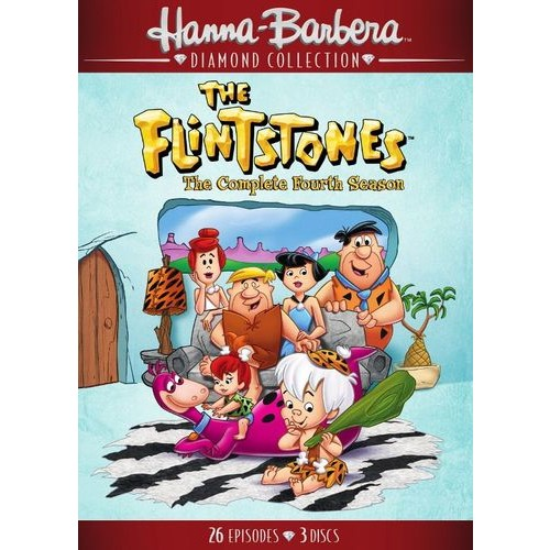 The Flintstones: The Complete Fourth Season [4 Discs] [DVD]