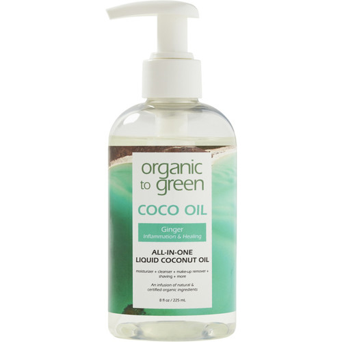 Online Only Ginger Coconut Oil for Face - Healing