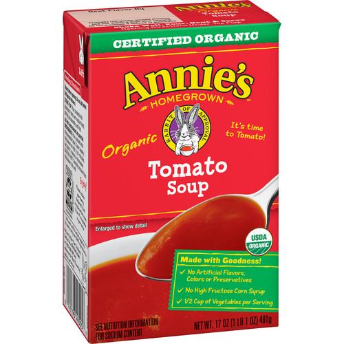 Annie's Tomato Soup, 17 oz Can