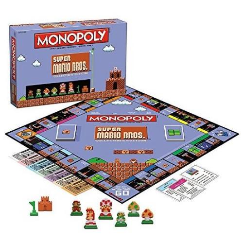 MONOPOLY: Super Mario Bros Collector's Edition