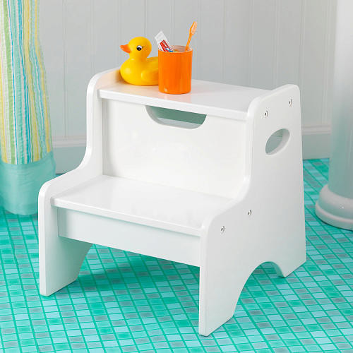 KidKraft Two Step Stool-White