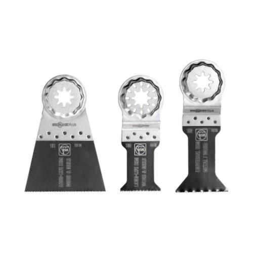 FEIN Starlock/StarlockPlus Multimaster Bi-Metal E-Cut Saw Blade Set 3 pk(35222952090)