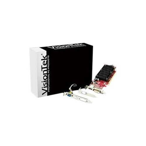 Visiontek Radeon HD 6350 Graphic Card - 1 GB DDR3 SDRAM - PCI Express 2.0 x16 - Single Slot Space Required - 2560 x 1600