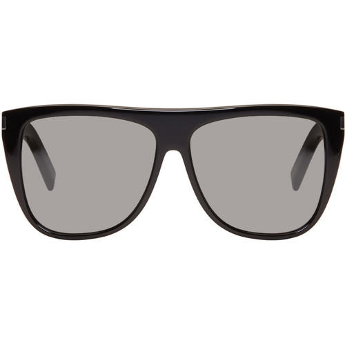 SAINT LAURENT Black Sl 01 Sunglasses