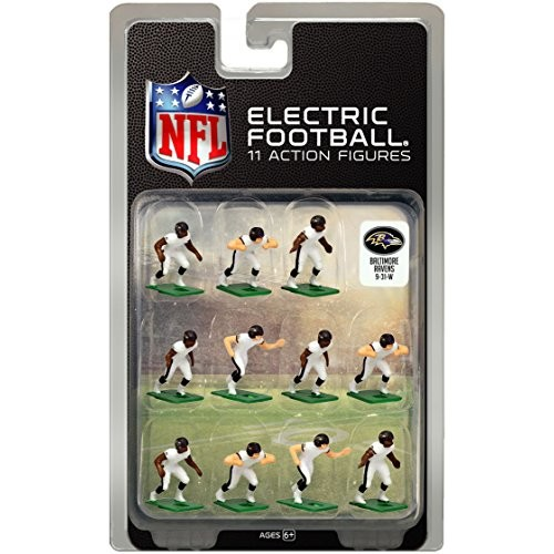 Tudor Games Baltimore Ravens White Uniform NFL Action Figure Set