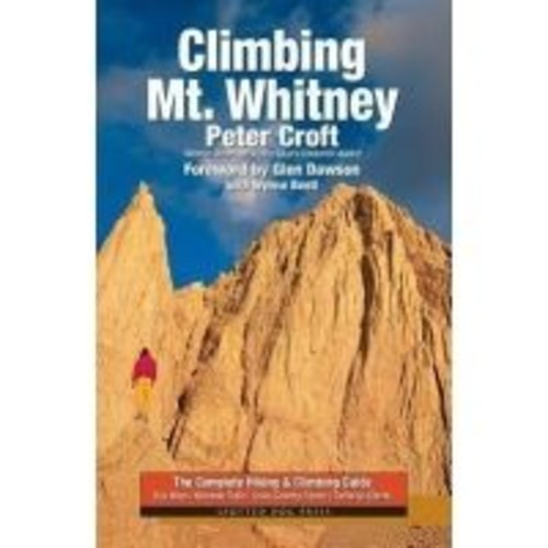 No Manufacturer Climbing Mt. Whitney paw0067, Application: Rock Climbing, Book Type: Guidebook, Map Region: California,
